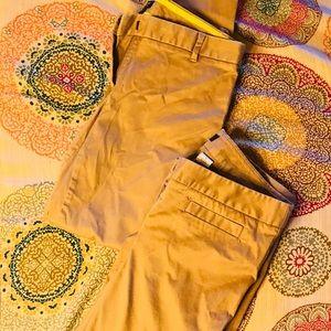 2 pair of J.Crew City Fit pants